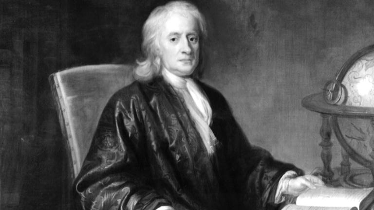 Isaac Newton Courtesy of Biography